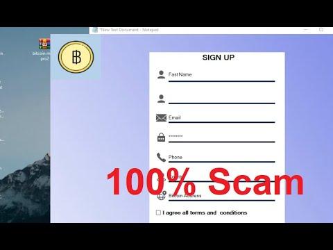 Bitcoin Miner Pro-legit or Scam?   100% Scam