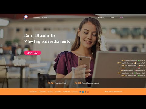 Coinpayu Earn bitcoin by viewing advertisement II High Paying Site II Without Investment II SOJ