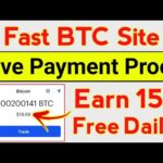 Earn 15$ BTC | New Fast Bitcoin Mining Website 2020 | Earn Daily Fast Bitcoin Without investment