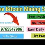 New Bitcoin Mining Site 2020 SingUp Bonus 1000GH/s | New Mining Site 2020 | Free Bitcoin Mining Site