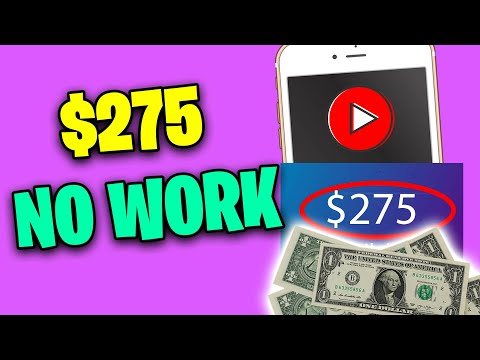 Make $275 TODAY FOR FREE *No Work Required* [Make Money Online]