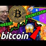 INSANE!!! BITCOIN COINCIDENCE?! WEALTHY INVESTORS HUGE BTC SECRET EXPOSED!! 🤫