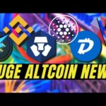 TOP CRYPTO NEWS! Cardano ADA, Crypto.com, Electroneum, Kardiachain, Binance Conference, Digibyte