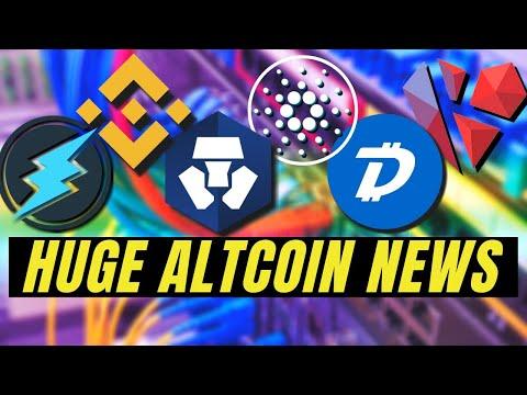 TOP CRYPTO NEWS! Cardano ADA, Crypto.com, Electroneum, Kardiachain, Binance Conference, Digibyte