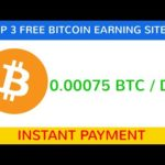0.00075 BTC Daily Free Bitcoin Mining Website 2020 || Free Cloud Mining Website || Payment Proof