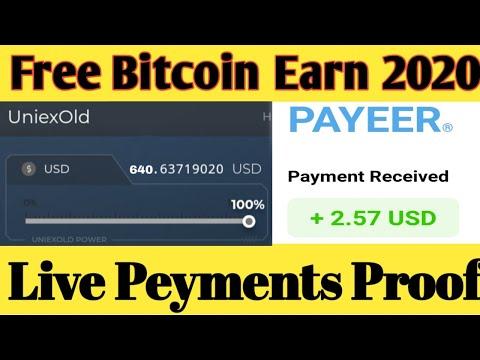 OMG New Free Bitcoin Mining Site 2020 ! uniex.biz Live Peyments Proof + Dogecoin Giveaway