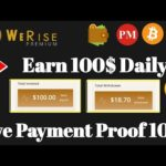 OMG 😱 NEW BITCOIN MINING SITE 100$ PROOF || EARN FREE BITCOIN + PAYMENT PROOF