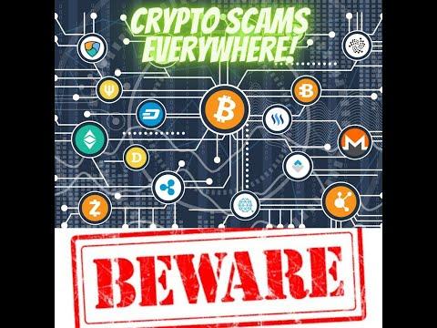 Crypto scams everywhere, beware!!!