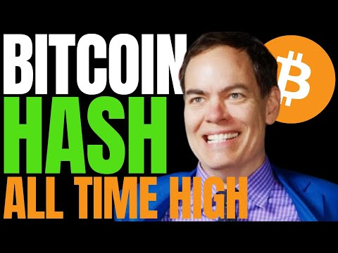 BITCOIN HASHRATE HITS A HIGH - BTC PRICE WILL FOLLOW SAYS MAX KEISER   7 Crypto's Making Huge Moves