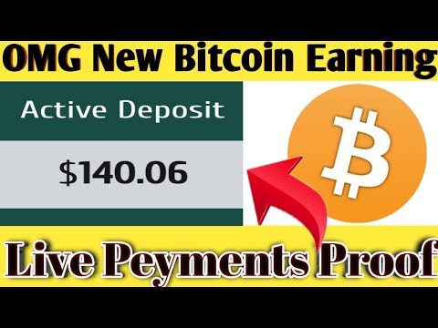New Bitcoin Earning Site 2020 ! Live Peyments Proof + Dogecoin Giveaway