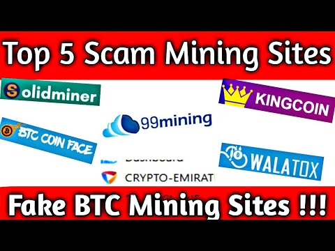 Top 5 Scam Mining Websites 2020 ( Fake Bitcoin Mining Sites 2020 ) Full Information { Legit or Scam