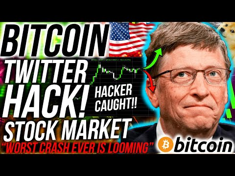 BITCOIN TWITTER HACKERS CAUGHT!! Stock Market WORST CRASH EVER LOOMS!! Crypto News