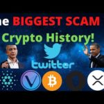 VET, ADA, XRP, Bitcoin Scams!! TWITTER HACKED! Jeff Bezos, Obama, Elon Musk & Others! PayPal Is Here