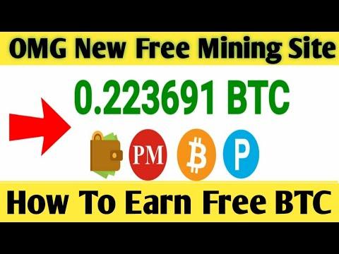 New Bitcoin Cloud Mining Site 2020 ! Free Bitcoin Earn ! How to Earn Free Bitcoin + Giveaway