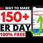 Real Way to Make $150 Per Day 100% FREE | Make Money Online 2020