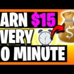 Earn $15 EVERY 10 Minutes [Make Money Online]