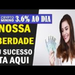 🛑CRYPTO-MINING🔊INCRÍVEL 💲 FIQUE RICO EM 2020 💲 AGORA É SÓ LUCRO💲 3.6% TODO DIA 💲20/07/20