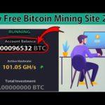 New Free Bitcoin Mining sites 2020 | New Bitcoin Mining site 2020 | Free Bitcoin Mining site 2020