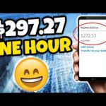 Earn $297.27 in 1 Hour VIEWING ADS?!! FREE | Make Money Online Fast