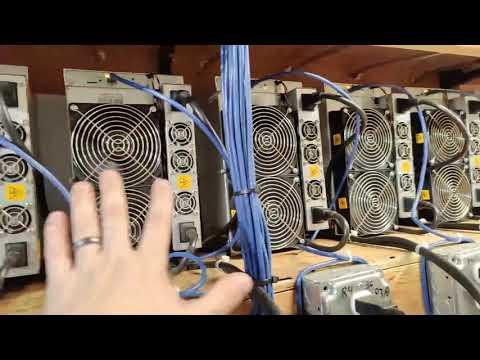 Bitcoin Miners Overheating - Checking on Farm Status