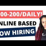 Speak English?  Make $100-$200 A Day! Make Money Online 2020