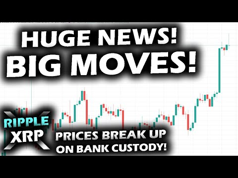 SHOCKING BULLISH NEWS Banks APPROVED to CUSTODY CRYPTO as PRICES POP and Ripple XRP Price Chart