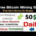New free bitcoin cloud mining site 2020, New bitcoin mining site 2020,  Free mining, Technical ahsan