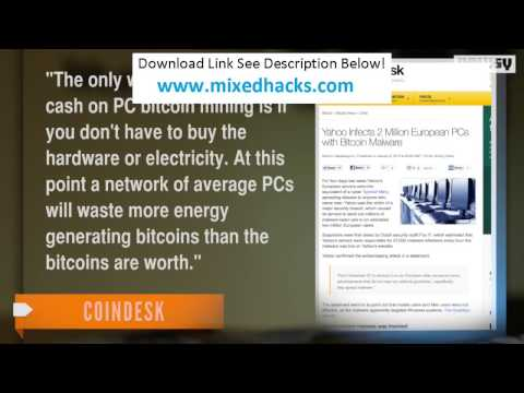 Bitcoin mining Virus from Yahoo | Safer & more profitable alternatives in the description!  No