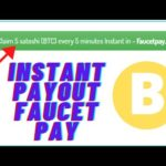 TODAY'S NEW INSTANT BITCOIN PAYING FAUCET ,PAYMENT IN FAUCET PAY JOIN AND EARN FREE BITCOIN