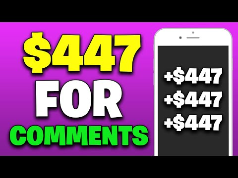 EARN $447 PER DAY FOR COMMENTS [Make Money Online]