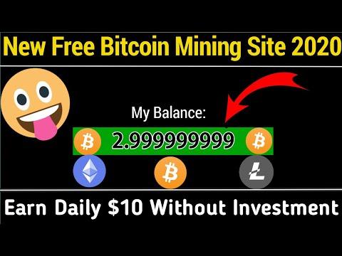 New Bitcoin Mining Site 2020   New Free Bitcoin Mining Site 2020   Legit Bitcoin Mining Sites 2020