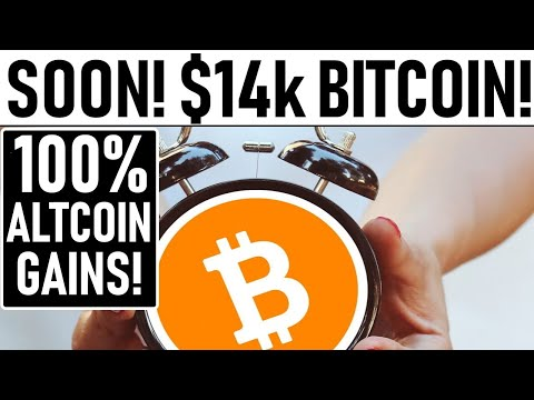 $14k BITCOIN TARGET! SOON: 100% GAINS FOR TOP ALTCOINS! MASSIVE AMOUNTS OF BTC MOVED TO EXCHANGES!