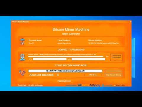 Bitcoin Mining Software Machine 2020 (FREE LICENSE KEY)