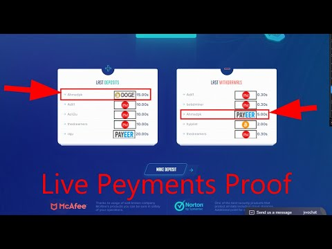 New Bitcoin Earning Site 2020 ! + $5 Live Peyments Proof + Dogecoin Giveaway