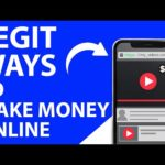 Top 10 LEGIT Ways To Make Money Online In 2020 ($100 A Day)