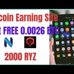 New bitcoin Earning site2020 |   Get 0 0026 BTC Free +0 0001 Per Refer | 2000 RYZ Join Fast