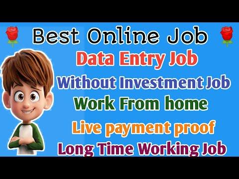 Best Online Job || Data Entry Job||tamilearntricks||