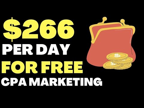 How To Earn Money Online 2020 (How I Made $266 Dollars With CPA Marketing)