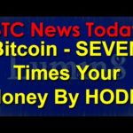 BTC News Today 2020: Bitcoin - SEVEN Times Your Money By HODL!
