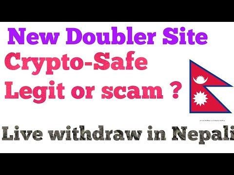 New Doubler site Crypto-safe Review in Nepali ||Legit or scam with payment proof