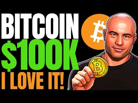 Joe Rogan Loves Bitcoin, Says it's 'Transformational' | $100,000 BTC Assault With Renewed Vigor!