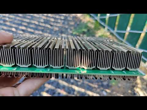 Crypto Bitcoin Mining - 1 Month Board Dust Check - How Good is a Bug Net For Mining?