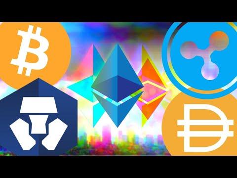 MASSIVE Ethereum 2.0 RALLY! Bitcoin on Ethereum! Crypto.com MCO CRO Swap! Dai Staking, Ripple XRP!