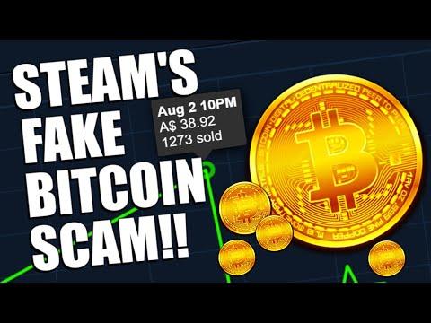 The Steam Market's INSANE FAKE 'BITCOIN' SCAM   TDM_Heyzeus