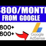 EARN $807 16 Per Month Using Google! Make Money Online Google 2020