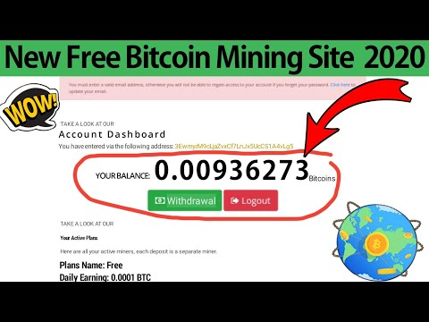 New Legit Free Bitcoin Mining Site 2020   New Bitcoin Mining Sites 2020   New Bitcoin Mining Site