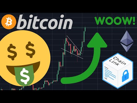 HUGE WARNING TO ALL BITCOIN TRADERS!!!!! CHAINLINK GOING PARABOLIC!!!!