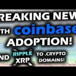 BREAKING NEWS with COINBASE! ADOPTION! Send Ripple XRP, Bitcoin and Crypto to SIMPLE ADDRESSES!