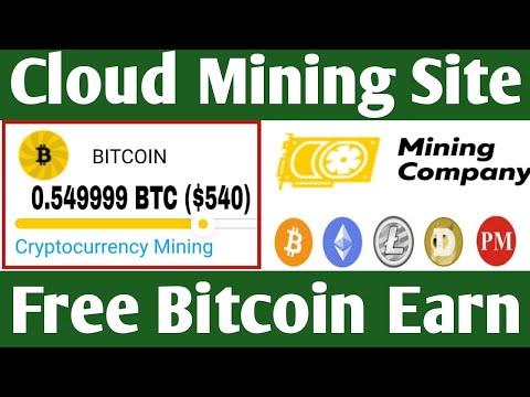 OMG Free Bitcoin Earn Bitcoin Free Cloud Mining Site 2020 ! Live Peyments Proof 0.0012999 BTC