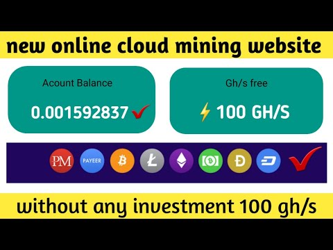 Best bitcoin mining website 2020 // free cloud mining website 2020 // letit.cloud review  !! 100gh/s